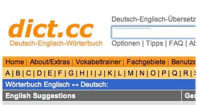 Leo.De Deutsch Englisch