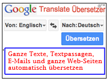 englisch google übersetzer