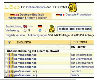 leo.org english deutsch